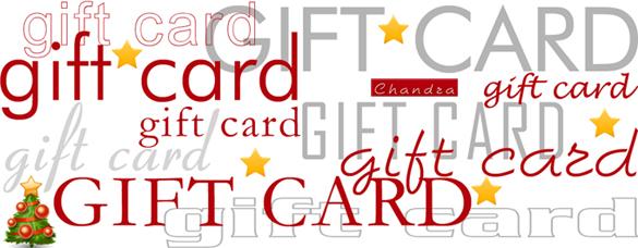 Chandra Studio estetico professionale: gift card Natale